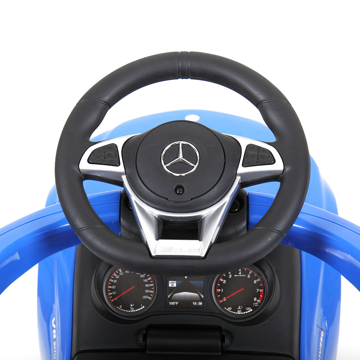 Mercedes Benz Ride On Push Car for Toddlers, Blue TH17N0346 j 1